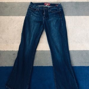 """Luck jeans """"Sofia boot"""" size 12/31 dark blue jeans"""